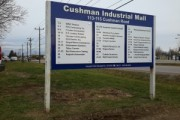 Cushman Industrial Mall Directory (Back)