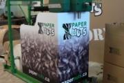 Paper Nuts Machine Wrap