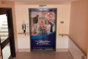 Hotel Dieu Physiotherapy Elevator wrap