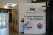 Interior Construction Hording