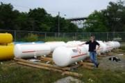OPG Floating Steel Safety Drums