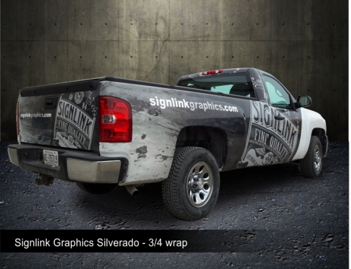SignLink Graphics | Vehicle Wraps